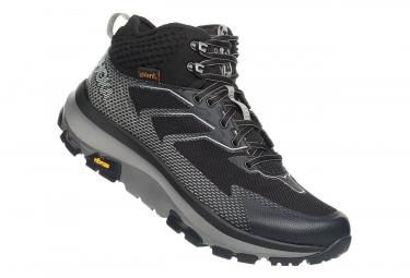 Hoka Outdoor Shoes Sky Toa Black Grey Men
