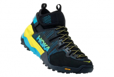 Hoka Outdoor Shoes Sky Arkali Black Yellow Blue Men
