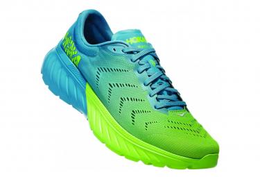 Hoka Running Shoes Mach 2 Blue Green