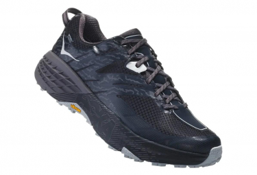 Hoka Trail Shoes Speedgoat 3 Waterproof Black Grey