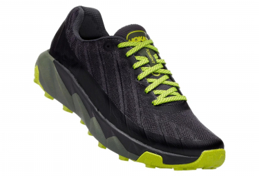 Hoka One One Shoes Trail TORRENT Black Green