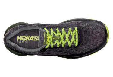 Chaussures de Trail Hoka One One Torrent Noir / Vert