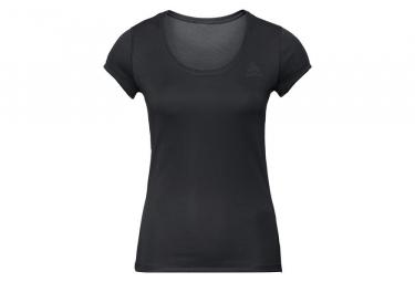 Odlo Active F Dry Light Women Short Sleeves Tee Black Xl