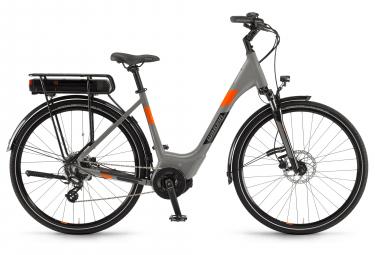 Winora Yucatan 8 Womens E-Bike  Gris / Orange