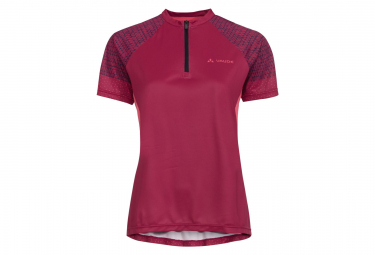 Vaude Ligure Jersey Crimson Red