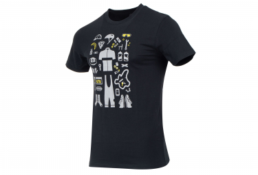 Marcel Pignon Rider Kit T-shirt Grey