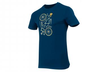 T-Shirt Marcel Pignon Homme Bike Kit Bleu