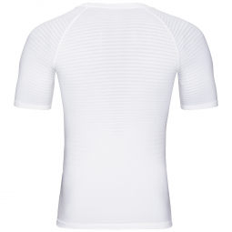 Maillot Manches Courtes Odlo Performance Light Blanc Homme