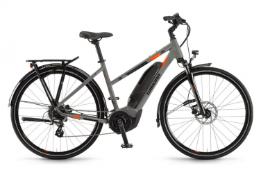 Winora Yucatan 8 Womens E-Bike  Gris / Orange