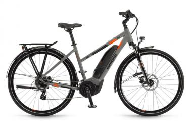 WINORABIKE Yucatan 8 400Wh 28'' Women City e-Bike Shimano Altus 8S Coolgray