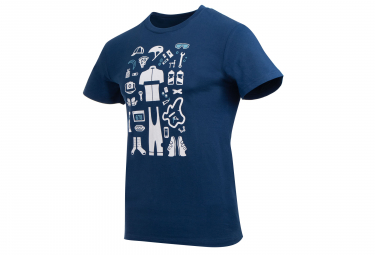 Marcel Pignon Rider Kit T-shirt Blue