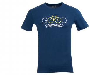 T-Shirt Marcel Pignon Homme Good Morning Bleu
