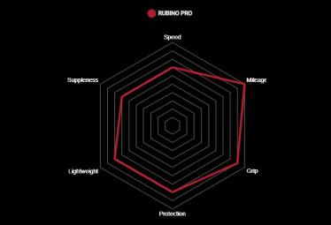 Vittoria Rubino Pro Graphene G2.0 Roter Reifen