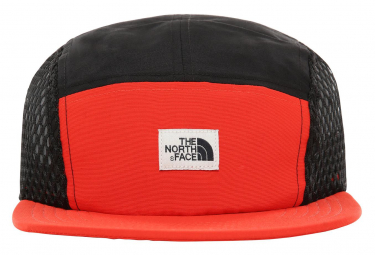 Casquette The North Face Class V Five Panel Rouge Noir