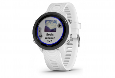 Garmin Forerunner 245 Music GPS Watch White With White Coloured Band