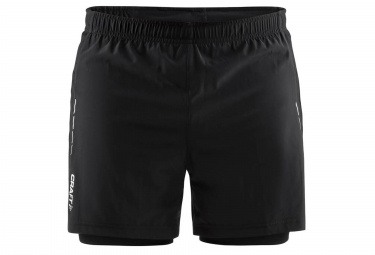 Craft Essential 2-en-1 Short Black
