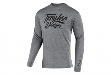 Troy Lee Designs LS Jersey Flowline Tattoo Racer Graphite