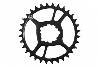 SRAM X-SYNC 2 Steel Eagle Direct Mount Chainring 6mm Offset 12 Speed Black