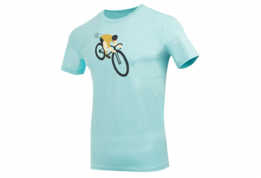 Marcel Pignon Attaque T-shirt Light Blue