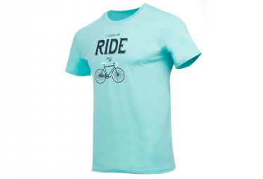 Marcel Pignon I Want To Ride T-shirt Light Blue