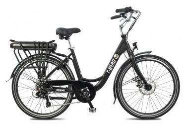 Vélo de Ville Électrique T-Bird Miami Panaché 7V Noir