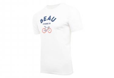Marcel Pignon Beau Velo T-shirt White