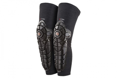 G Form Knee Shin Pad Combo Elite Black  Xl