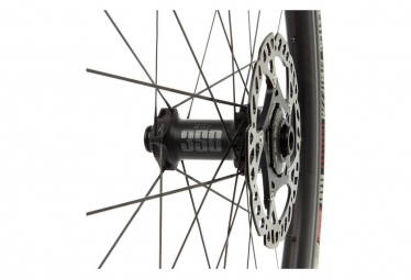 Paire de Roues Fast Forward F3D FCC Carbon Disc DT350 SP | 12x100 - 12x142mm | Corps Shimano/Sram | Noir Mat