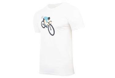 T-Shirt Marcel Pignon Homme Attaque Blanc