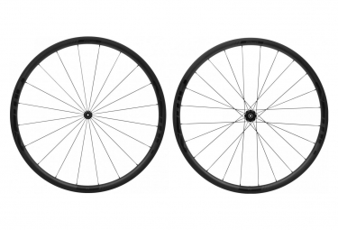 Fast Forward Carbon F3R FCT Tubular Wheelset Shimano/Sram Black Matt