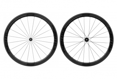 Fast Forward Carbon F4r Fct Tubular Dt350 Wheelset Shimano Sram Black Matt