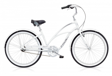 Vélo de Ville FemmeElectra Cruiser Lux 3i 24'' Blanc