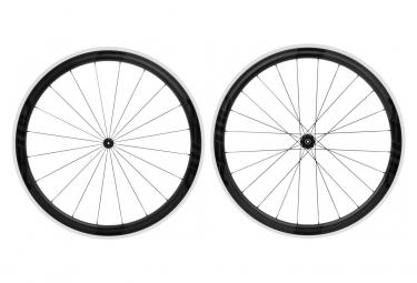 FAST FORWARD Carbon F4R-C Carbon/Aluminium FCC 350 Wheelset Shimano/Sram Black Matt