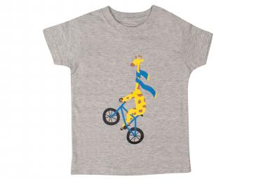 T-Shirt Marcel Pignon Enfant Giraffe Gris
