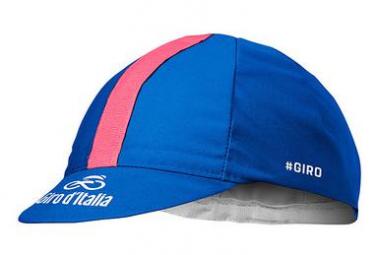 Castelli Cycling Cap Giro 102 Azzuro Blue / Pink