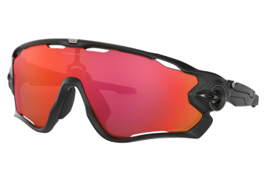 Oakley Sunglasses Jawbreaker / Matte Black / Prizm Trail Torch