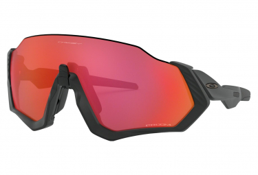 Oakley Sunglasses Flight Jacket / Matte Black / Prizm Trail Torch / OO9401-1637