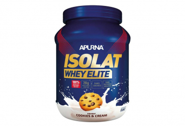 APURNA WHEY ELITE ISOLAT Protein 750g Drink Cookie and Cream