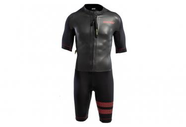 Combinaison de Triathlon COLTING SWIMRUN GO Noir Rouge