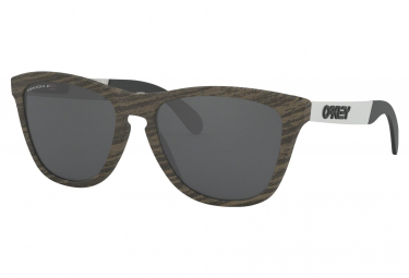 Oakley Sunglasses Frogskins Mix / Woodgrain / Prizm Black Polarized / Ref.OO9428-0755