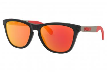 Oakley Sunglasses Frogskins Mix MotoGP Collection / Matte Black Ink / Prizm Ruby / ref.OO9428-0955