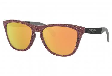 Oakley Sunglasses Frogskins Mix Metallic Splatter Collection / Splatter Vampirella / Prizm Rose Gold / OO9428-1055
