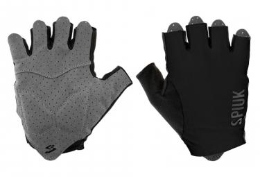 Spiuk Anatomic Short Gloves Black
