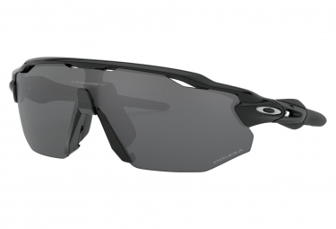 Gafas De Sol Oakley Radar Ev Advancer   Polished Black   Prizm Black Polarized   Ref Oo9442 0838