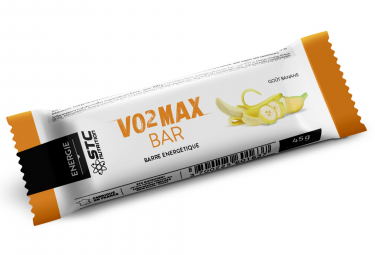 Barre Énergétique STC Nutrition - VO2 Max Bar - 5 barres de 45 g - Banane