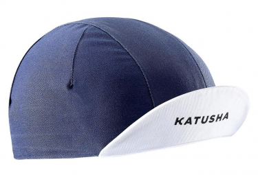 Casquette Katusha Race Bleu Marine Blanc