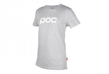 T-Shirt Poc Spine Gris Palladium