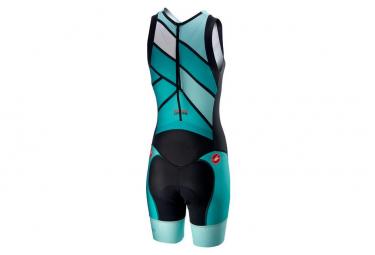Castelli Trisuit Women Suit Short Distance W Race Teal / Green