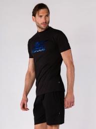 T-shirt BodyCross Training Bruno2 Noir/Bleu