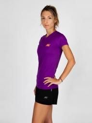 T-shirt BodyCross Running Paz-V Purple-L